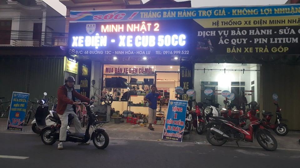 khách hàng mua xe đạp điện 133M aima