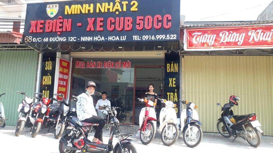 hình ảnh khách hàng mua xe đạp điện Q7 nike bike