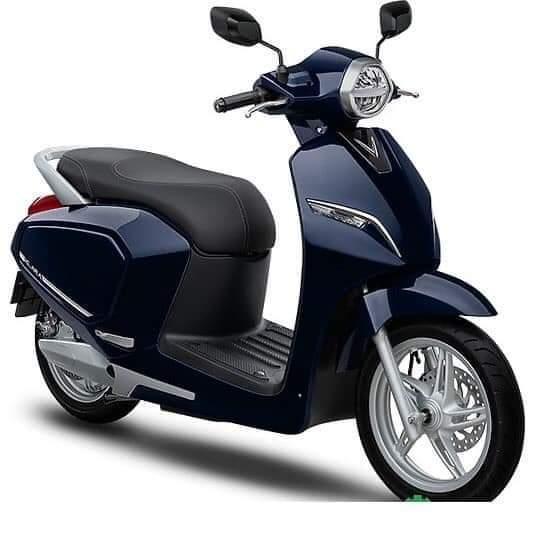 xe máy điện vinfast Klara màu xanh