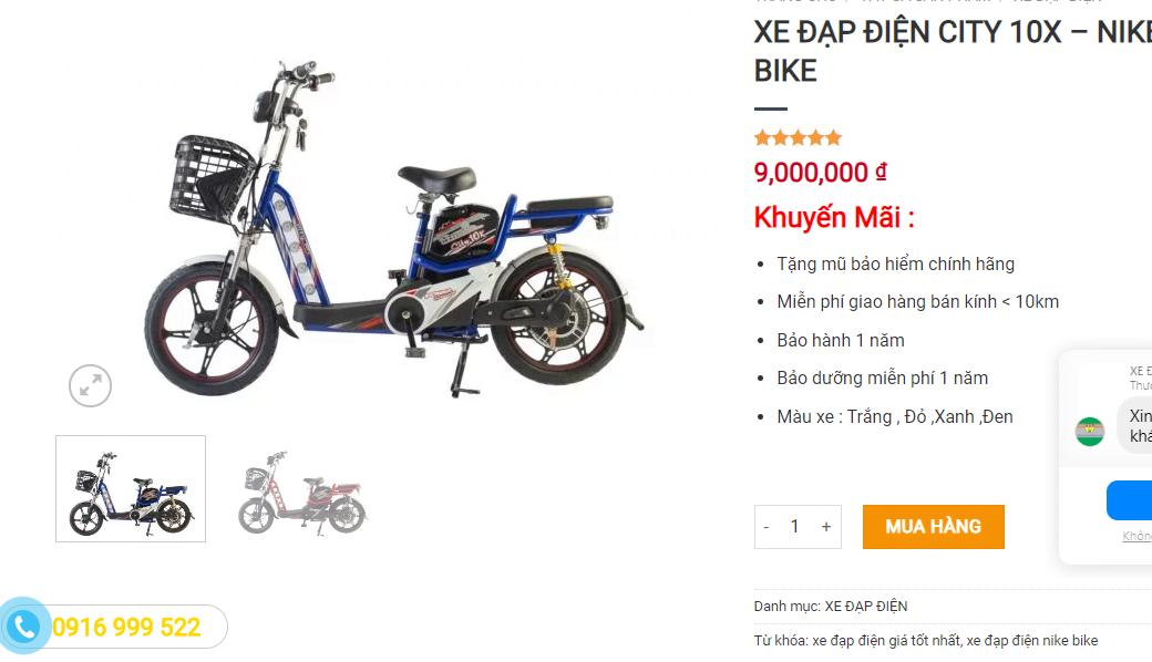 mẫu xe đạp điện cho người già