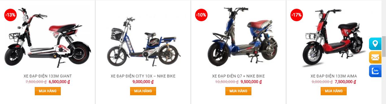 xe đạp điện giá rẻ nhất