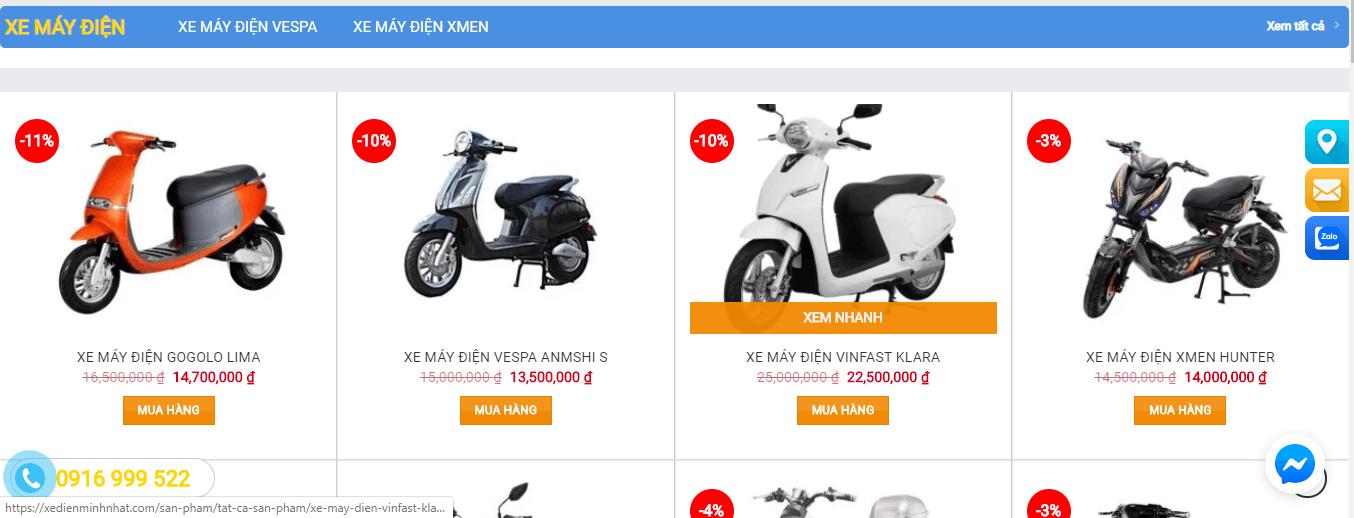 giá xe đạp điện ninh bình