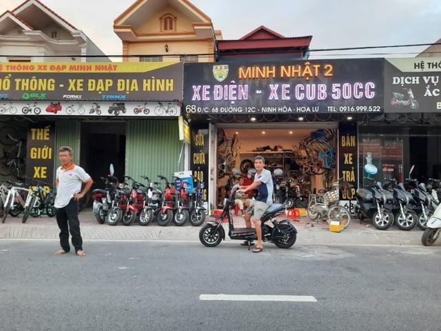 xe đạp điện và xe máy điện