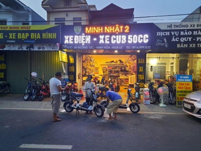 Xe máy điện tốt nhất Ninh Bình