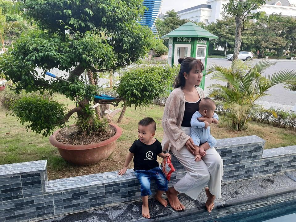 Gia đình xe điện Minh Nhật